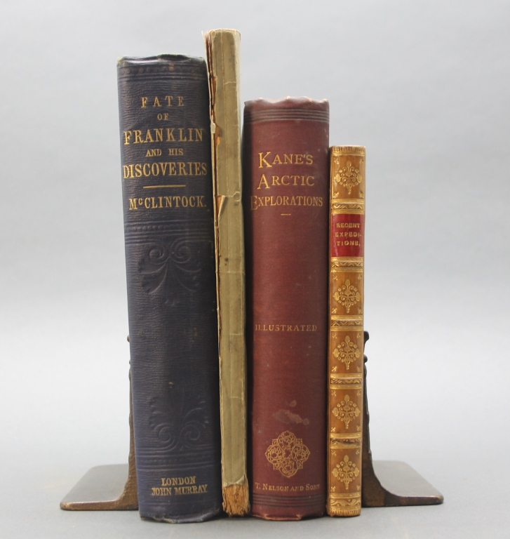 4 Books incl: A NARRATIVE... SIR JOHN FRANKLIN...