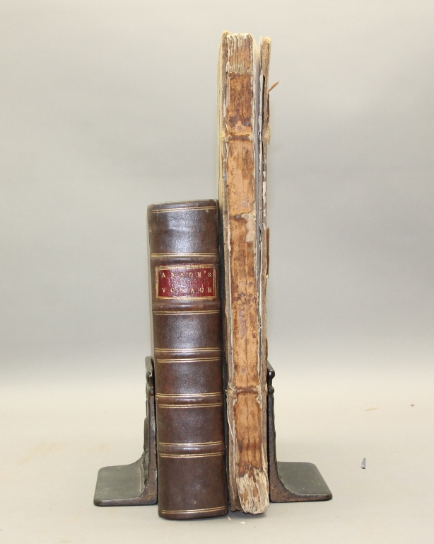 Anson. A VOYAGE. 2 Vols: 2nd ed + plates of 1st ed