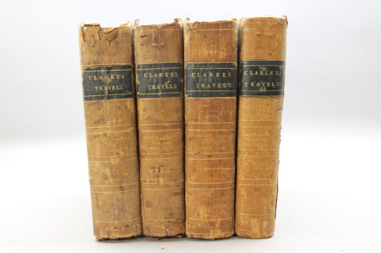 Clarke. TRAVELS IN VARIOUS... 4 Vols. 1811-1816.