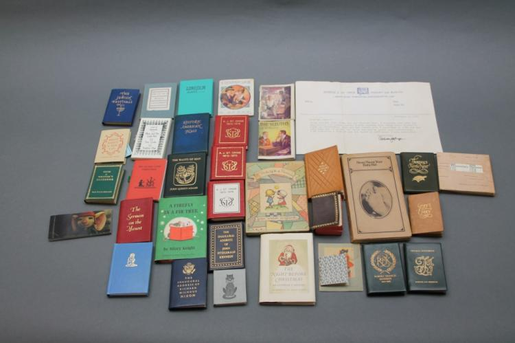 34 mini-books: Children's, Achille J. St. Onge...