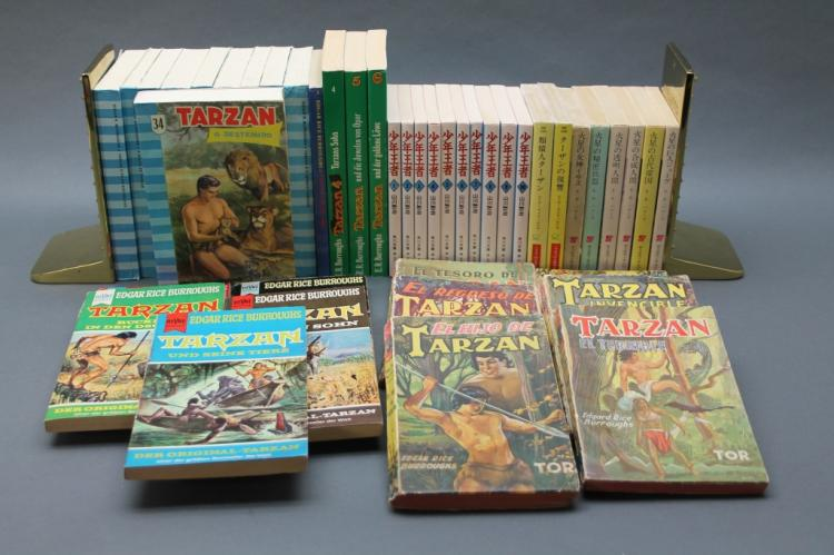 ~43 Vols: Foreign Tarzan editions, softcover.