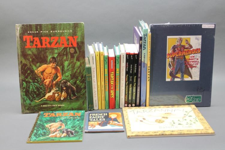 22 Vols incl EDGAR RICE BURROUGHS' TARZAN IN COLOR