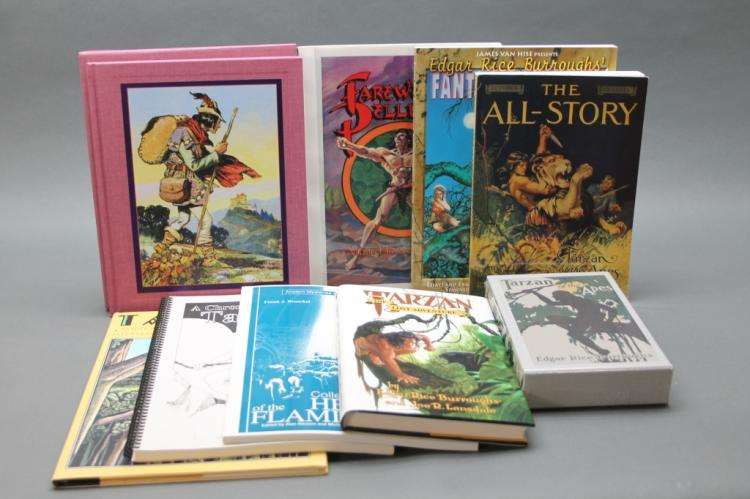 9 Edgar Rice Burroughs modern editions, references