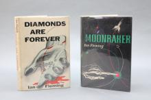 2 First US eds.: MOONRAKER + DIAMONDS ARE FOREVER.