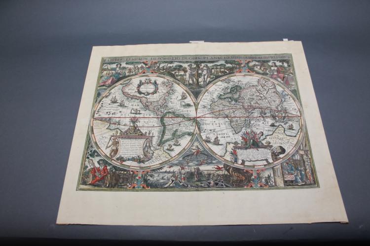 Orbis Terrarum Descriptio Duobis... (Facsimile).