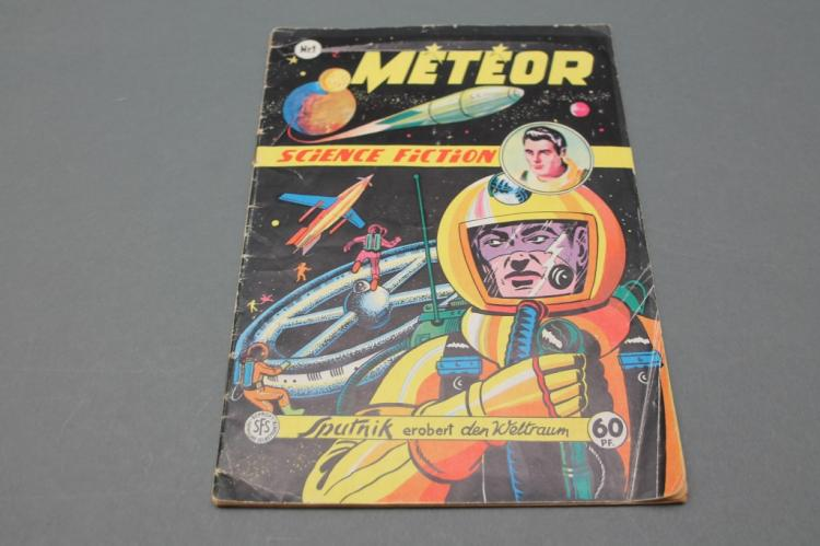 METEOR French Comic: 1958 German No. 1 Issue