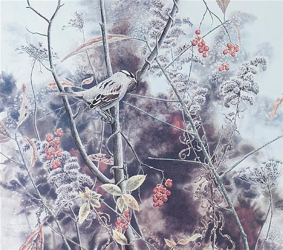 Vietor, Jean. (Am. b. 1933). Autumn Lullaby. 1986.