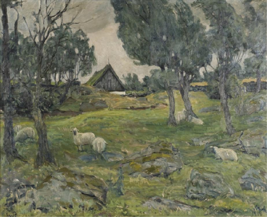Johnsen, Erik William (Den., 1866-1948).