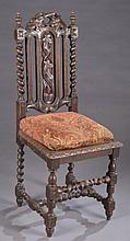Gothic revival side chair.