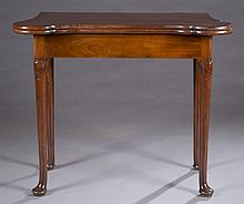 Provincial George III card table.