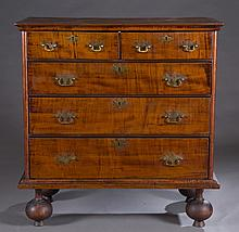 William and Mary chest of drawers.