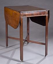 George III mahogany Pembroke table.