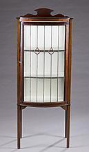 Edwardian glass door vitrine.