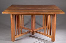 Signed Thomas Moser new century dining set.