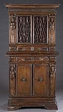 Gothic revival cabinet.