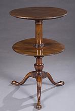 George III dumbwaiter table.