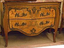 Louis XV style Napoleon 3rd Era marble top commode