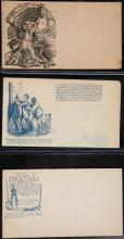 14 Civil War abolitionist postal covers.