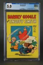 Four Color #40 Barney Google Snuffy Smith CGC 5.0