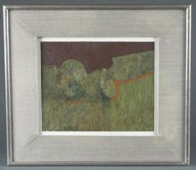 Eduardo M. Tamariz, Green Abstract, 1976, O/P.