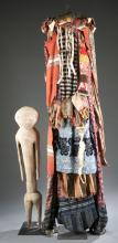 2 West African objects. 20th century.