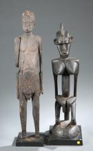 A group of two standing figures.