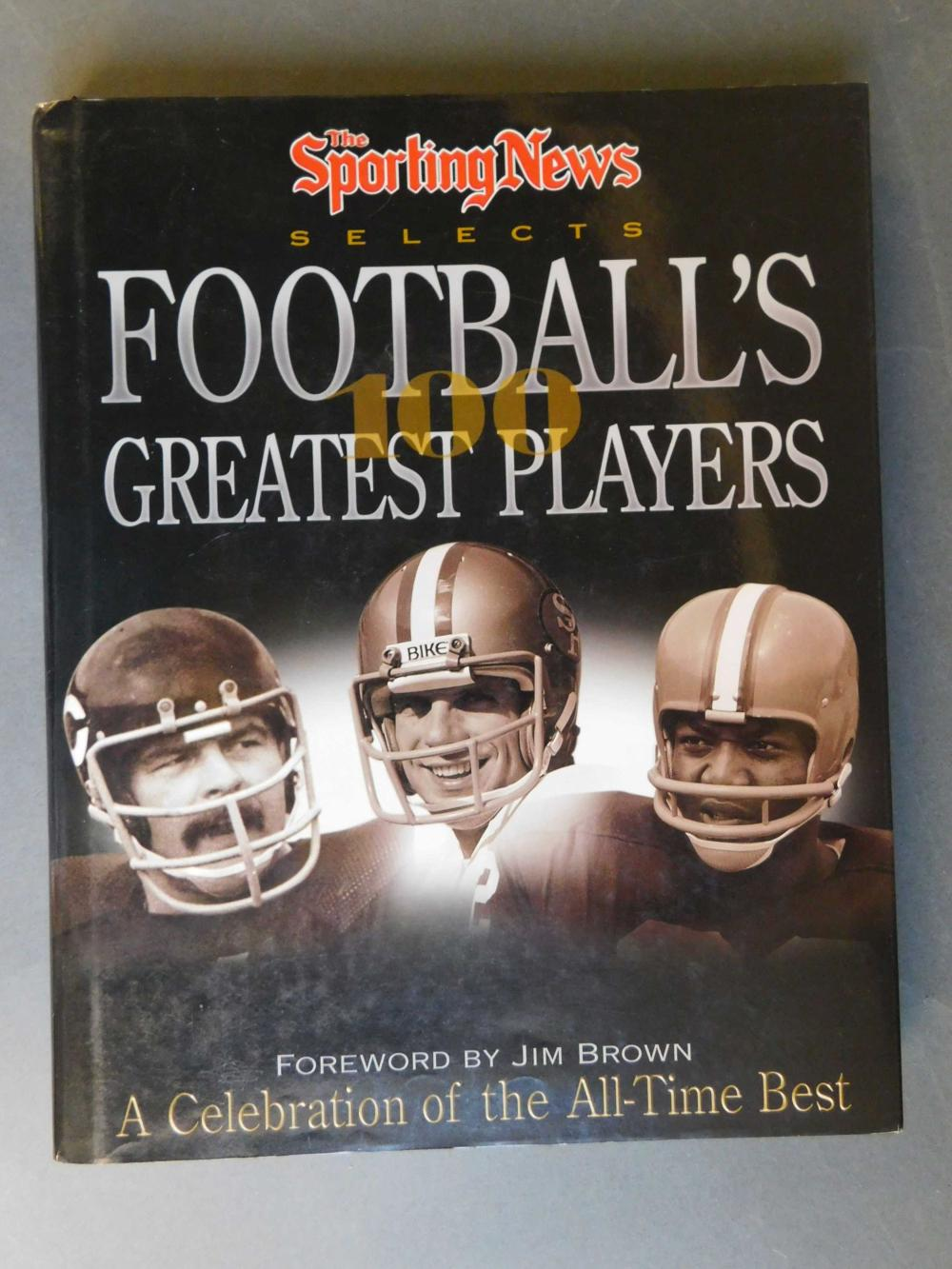 Football's 100 Greatest Players. Signed by over 20