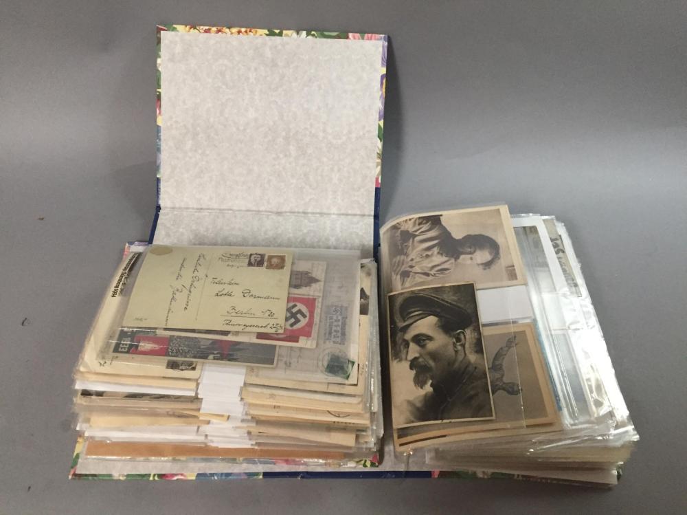 WWll Era German & Russian Postcards.
