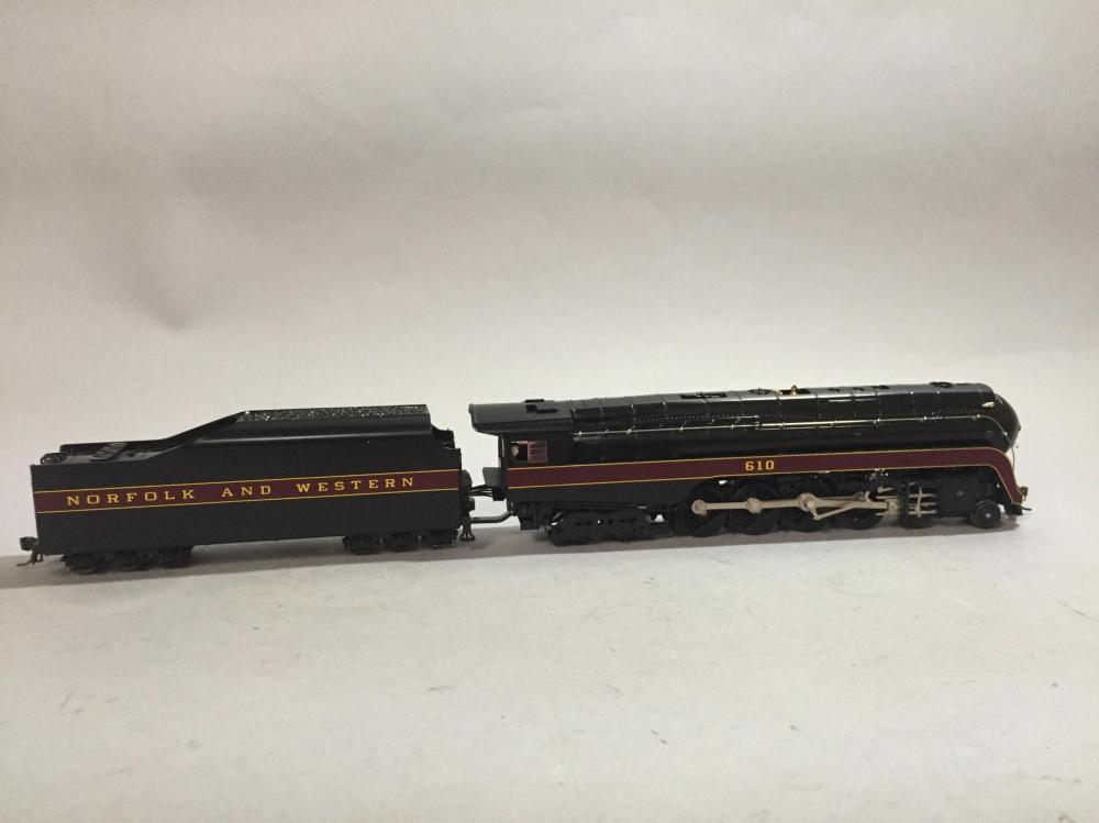 Paragon HO Scale J Class 4-8-4 Locomotive.