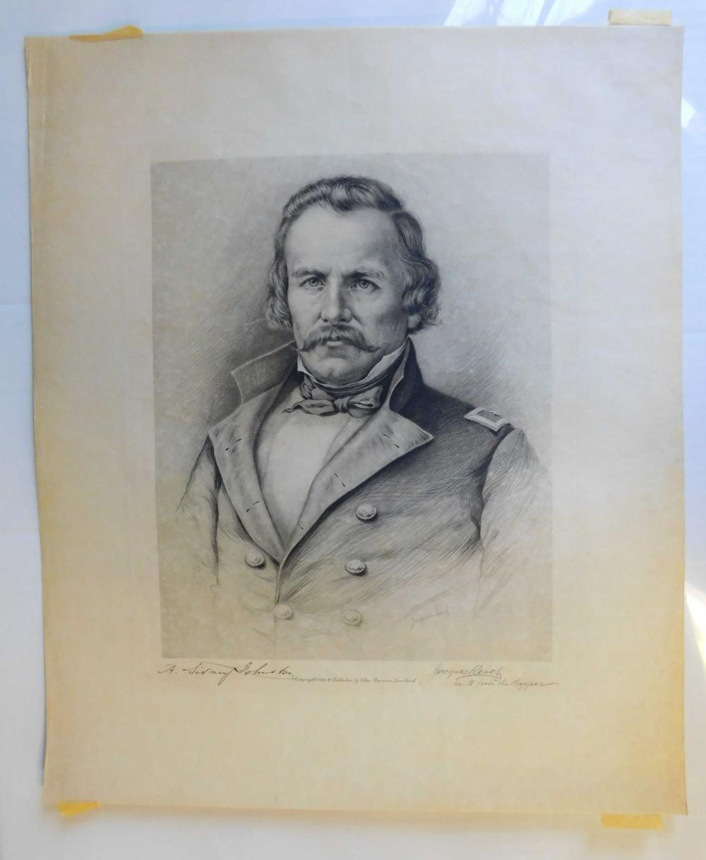 Jacques Reich. Signed etching. (1896).