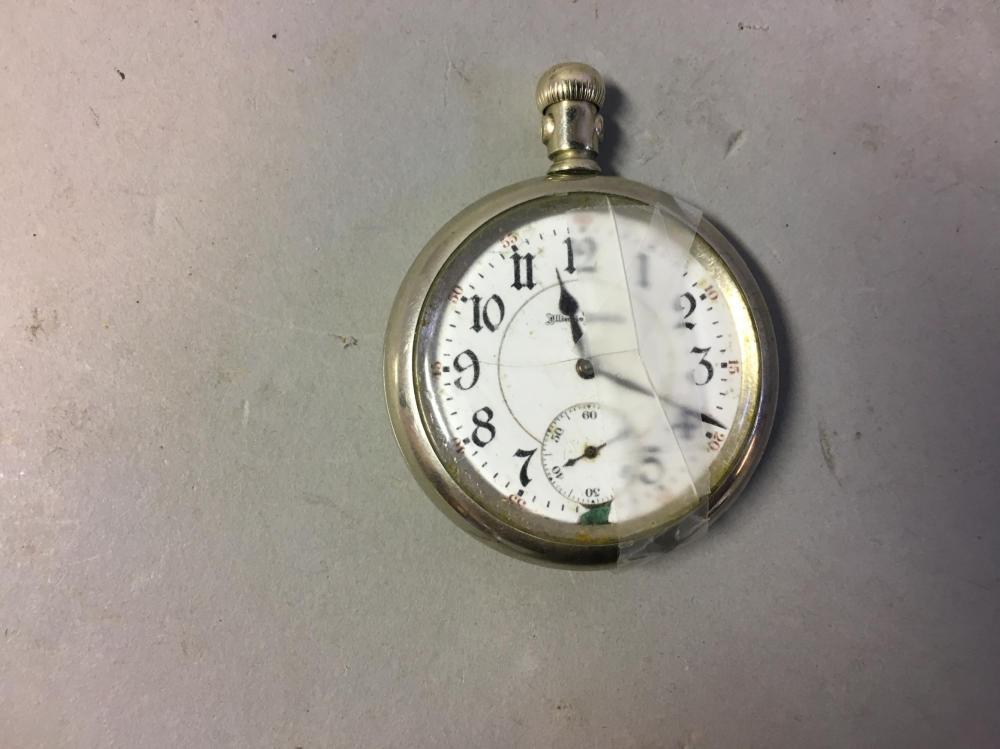 "Illinois Watch Company ""Sangamo "" Pocket Watch"