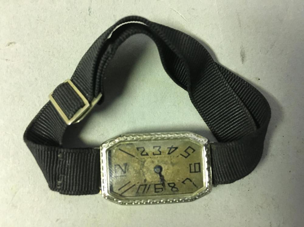 Gallet & Co. 18K Gold Watch