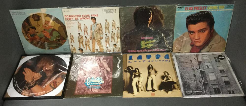 Group of European & U.S. Vinyl Records