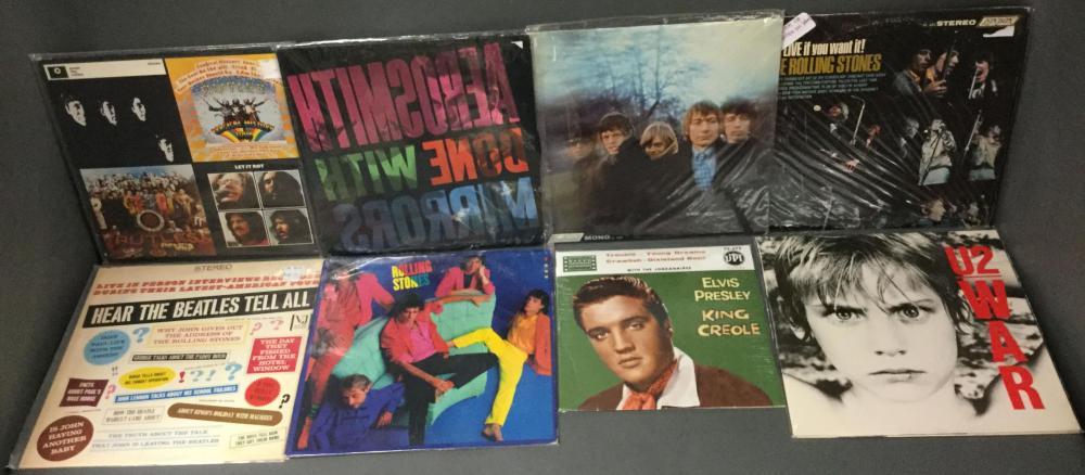 Assortment of European & Us Vinyl Records