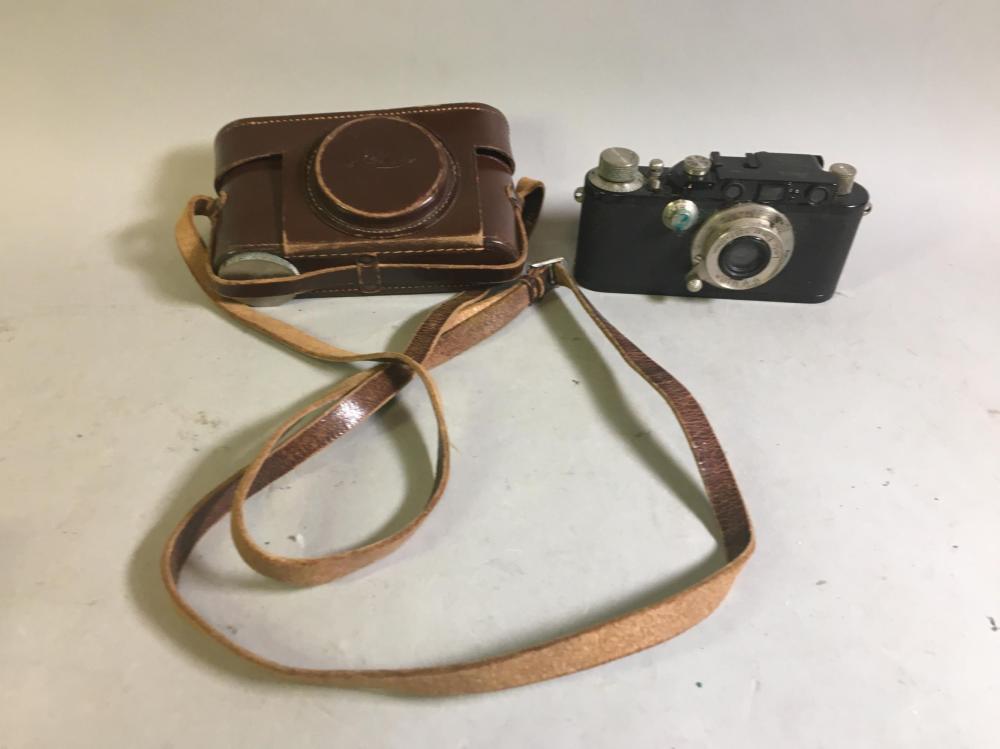 Ernst Leitz Leica Wetzlar Camera