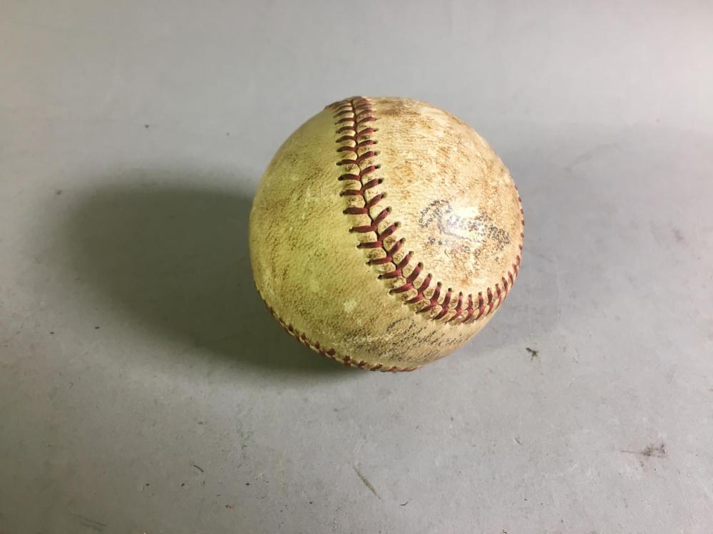 Vintage Signed Washington Nationals Baseball