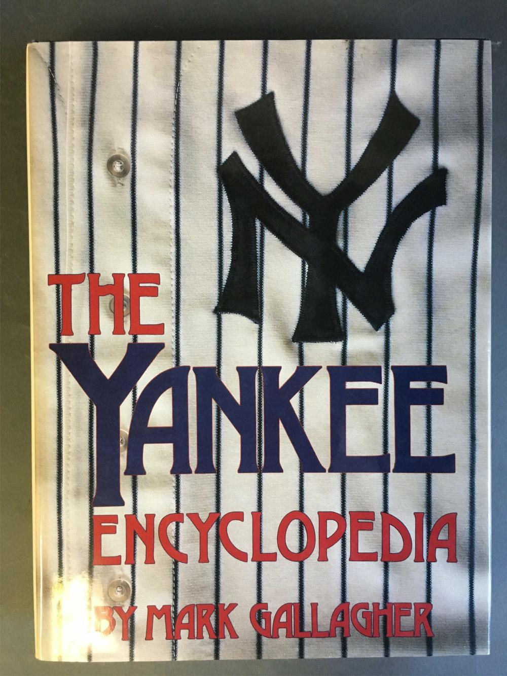 The Yankee Encyclopedia. Signed by over 20 players