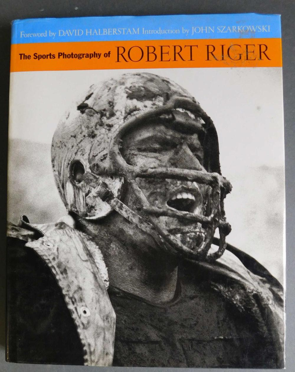 Sports Photography of Robert Riger. Multi-signed.