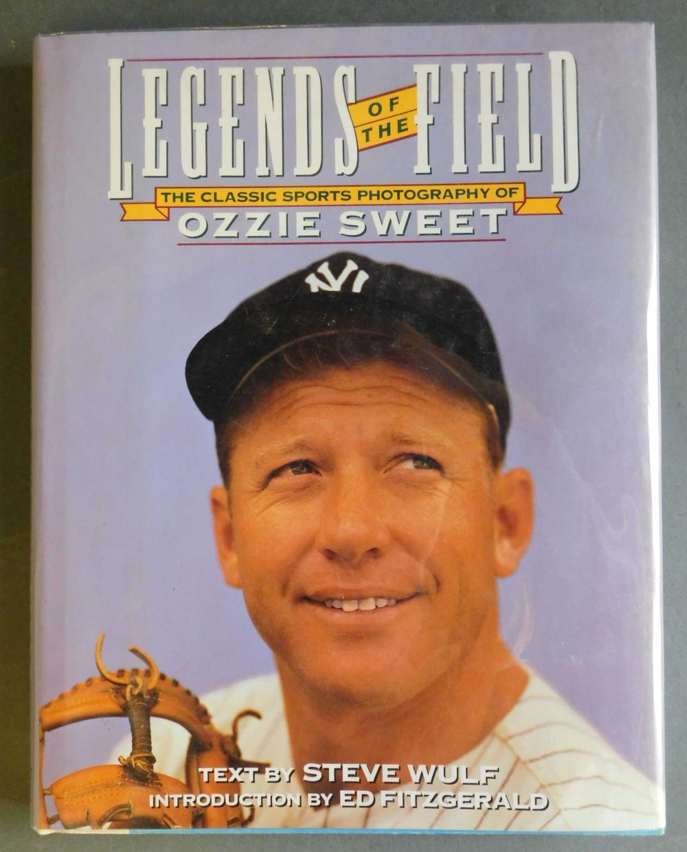Legends Of The Field. Signed by baseball players.