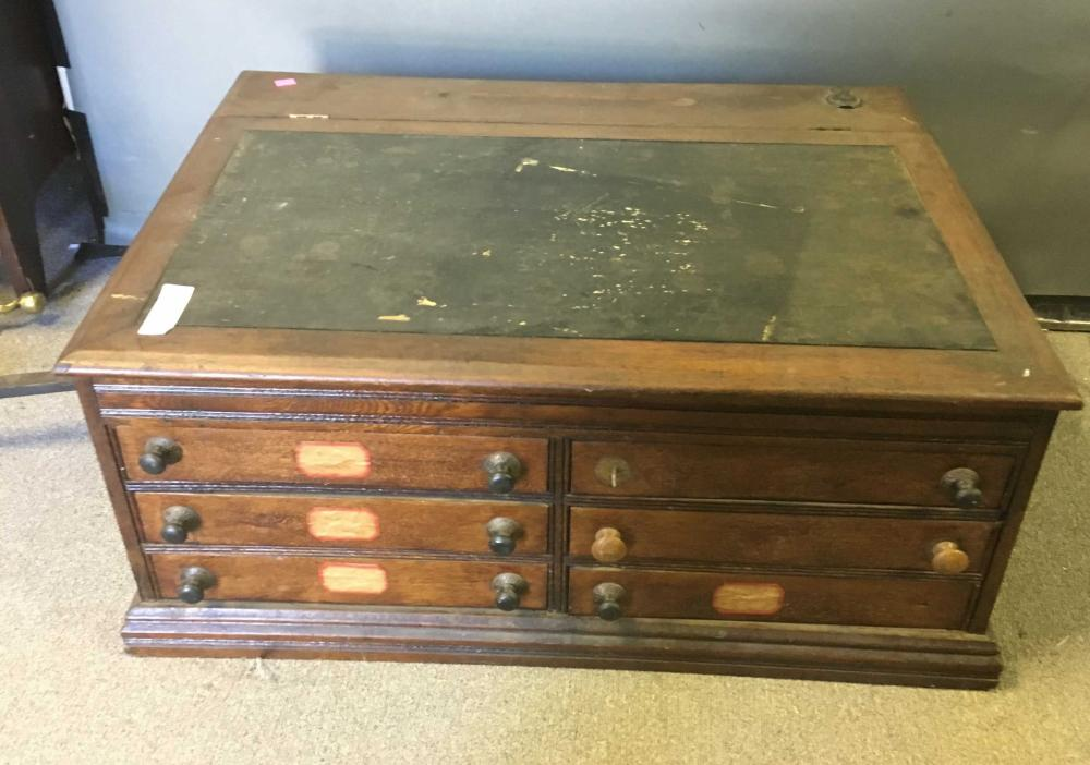 Antique Chadwick's Spool Cabinet & Desk
