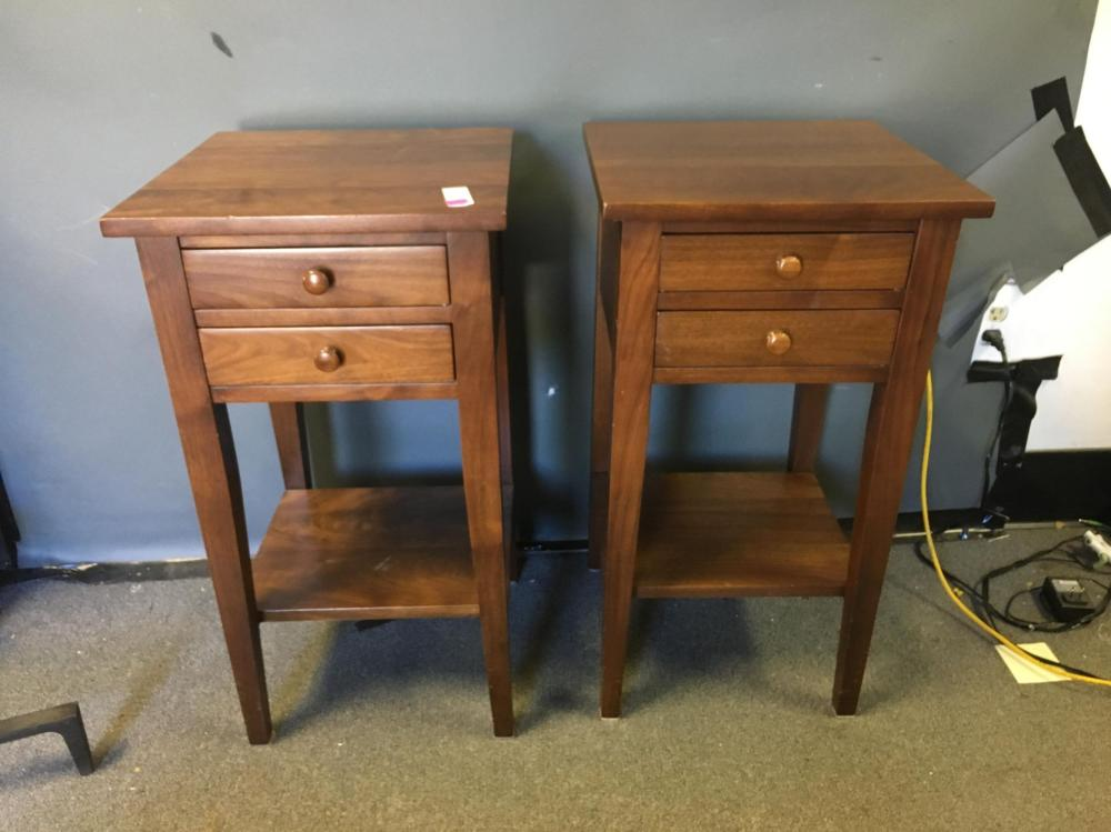 A Pair of E.A. Clore Sons' Work Tables