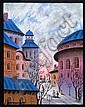 Anatole Krasnyansky. Color serigraph. Signed. 140/350., Anatole  Krasnyansky, Click for value