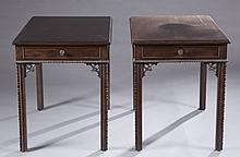 Pair of Potthast side tables.