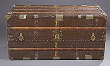 Antique Louis Vuitton steamer trunk.