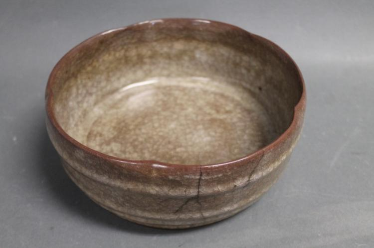 Two Hand Thrown Ceramic Bowl Plate