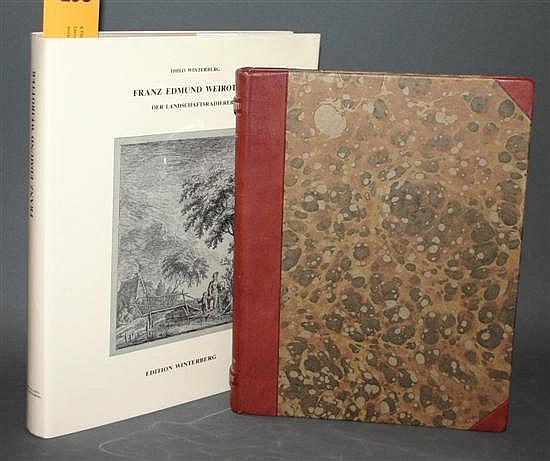 6 Titles: European printmakers. Franz Edmund Weirotter, Cornelis Ploos van Amstel, Pieter Dupont, Franz Hegi, Pehr Horberg, Paul Troger