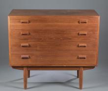 Povl Dinesen mid-century modern 4 drawer dresser.