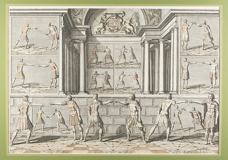 Girard Thibault - Johann Gelle, Table V c1628.