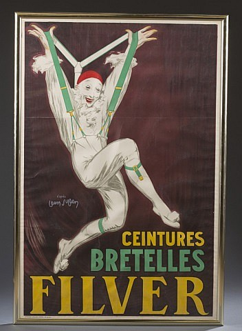 D'ylen, Jean. Ceintures Bretelles Filver, Print.