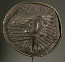 Ethiopian hide shield, 20th c.